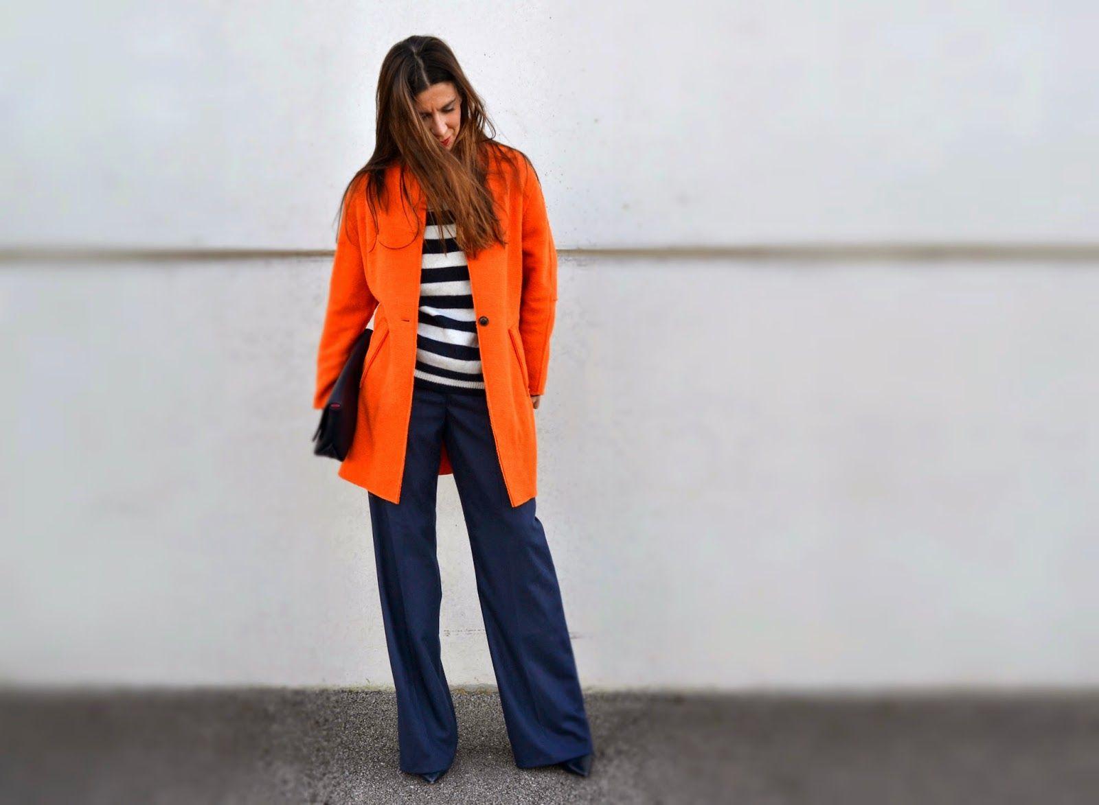 Una cita con Nadia Casas: Pantalones palazzo y color...