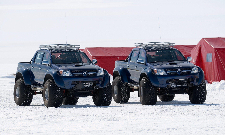 Toyota hilux south pole bug out vehicle