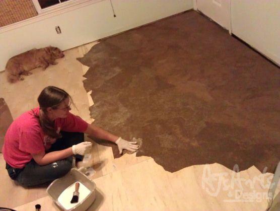 The Paper Bag Floor   Picture Heavy