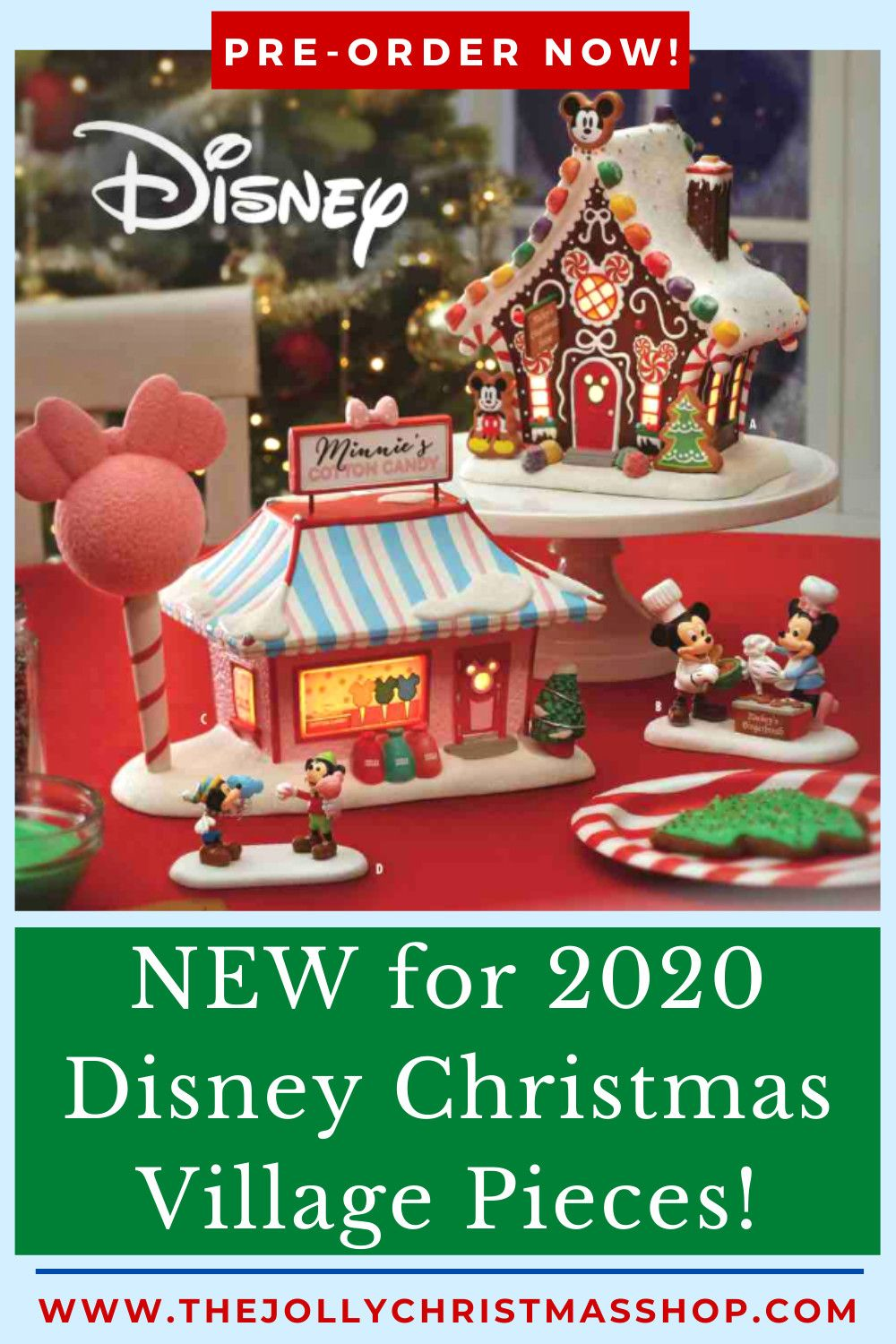 We've got some HOT! HPT! HOT! New Disney Village pieces for 2020!  Pre-order now to reserve yours!  #disneychristmas #disneychristmasvillage