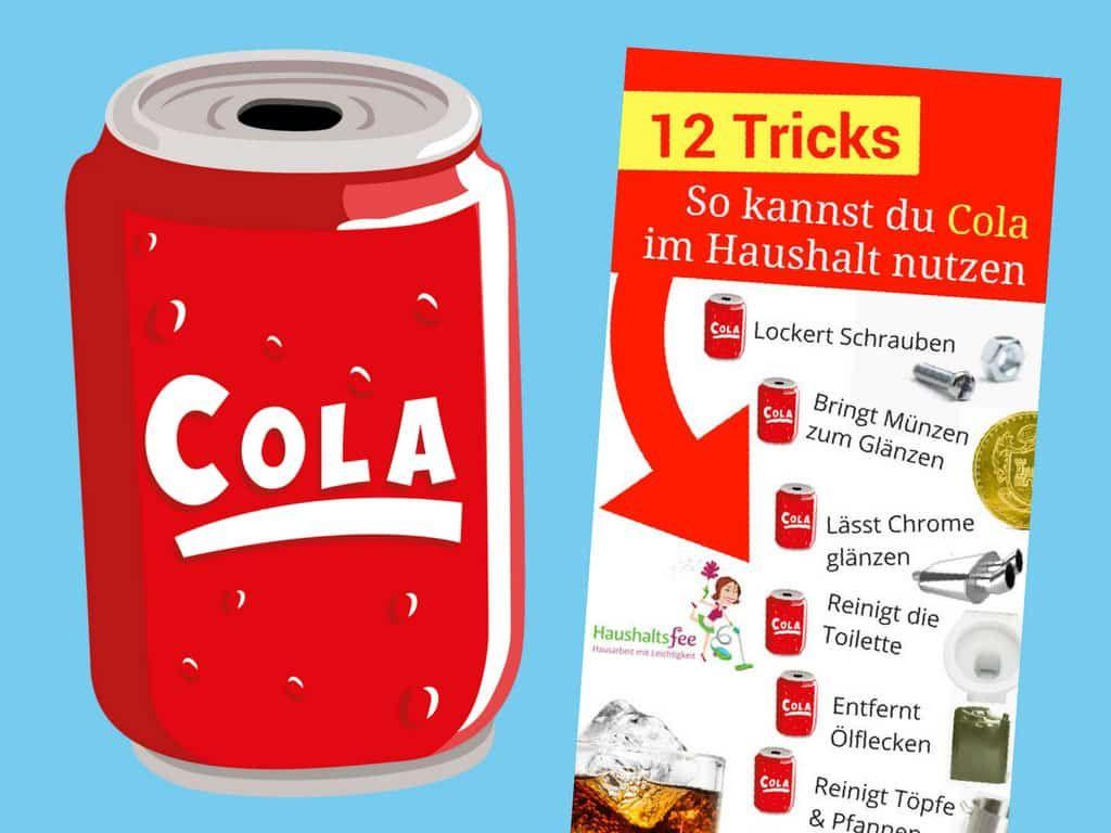 12 Möglichkeiten, Cola im Haushalt zu nutzen | Diys