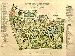 Botanischer Garten Und Botanisches Museum Berlin Dahlem Cartografia Urbanismo Jardim