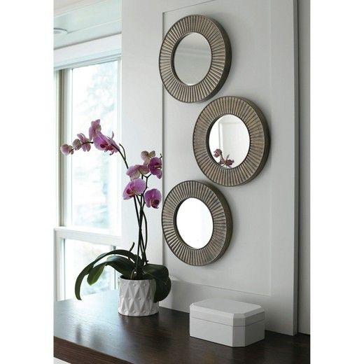 28++ Decoracion con espejos redondos ideas