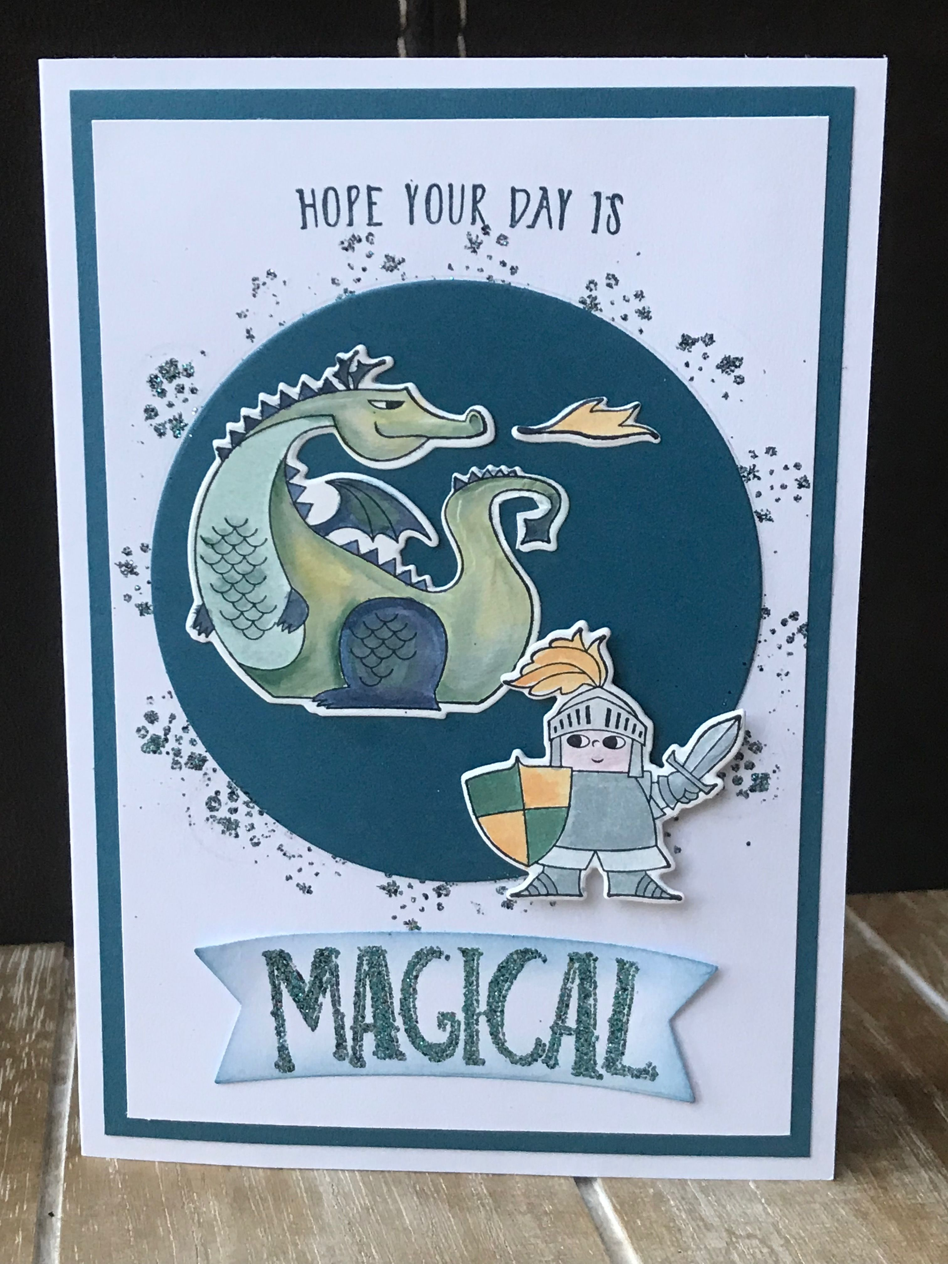 Stampin'up Myths And Magic Magical Day Cards Magic