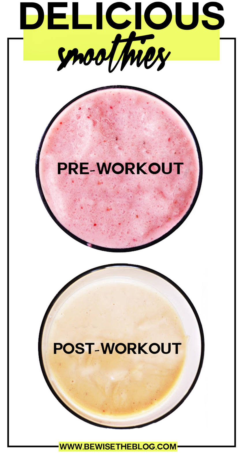 how to make a pre workout shake