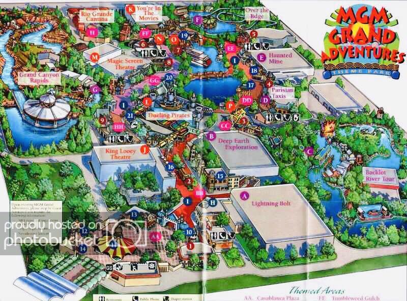 Mgm Grand Adventures Extinct Las Vegas Theme Park Las Vegas