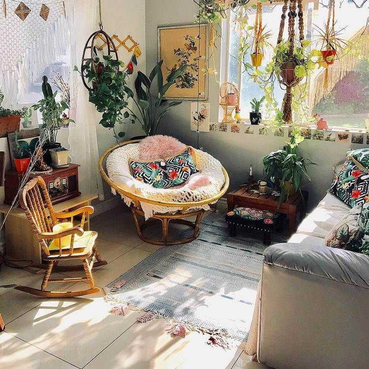 Boho Design Inspo In 2020 Boho Chic Living Room Boho Style Furniture Chic Living Room