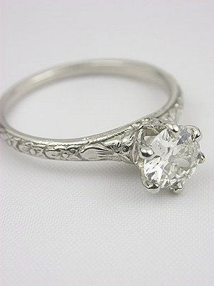 100 Simple Vintage Engagement Rings Inspiration 19