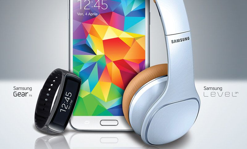 Galaxy S5: Samsung regala Gear Fit o cuffie Level On - http://www.tecnoandroid.it/samsung-regala-gear-fit-cuffie-level-on-per-ogni-galaxy-s5/