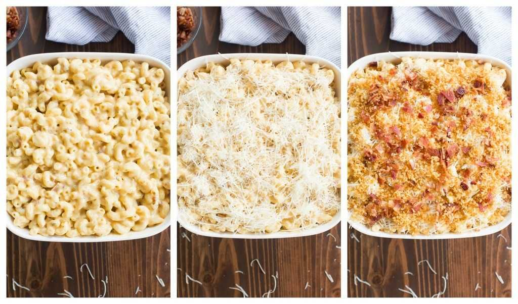 Gourmet Baked Mac And Cheese With Bacon Recipe Mac Cheese