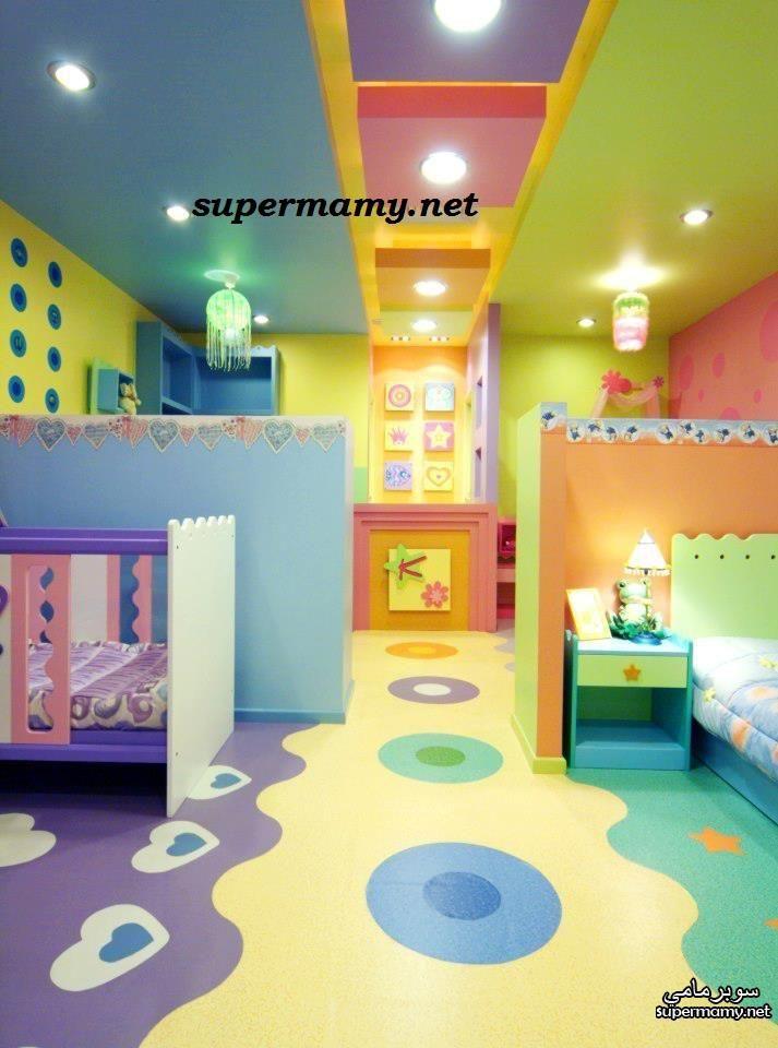 غرف نوم اطفال مشتركه بديكورات خيال Fantasy Decor Shared Bedrooms Kids Bedroom