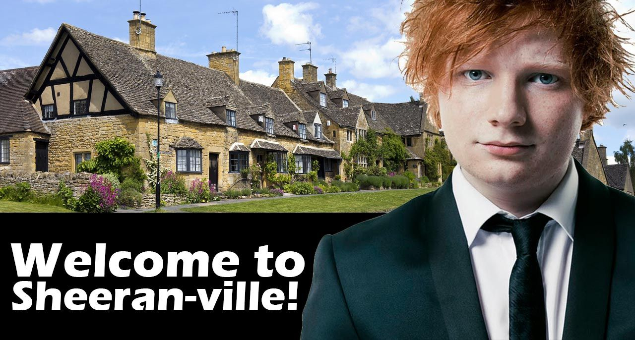 Newly Engaged Ed Sheeran Splashes Out 1 5m On Two More Houses