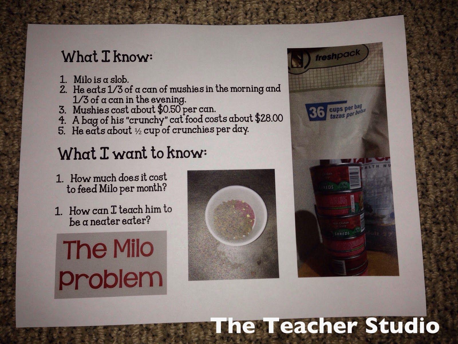 Math Is Real Life: Cat Food Budgets | Food budget, Real life math ...
