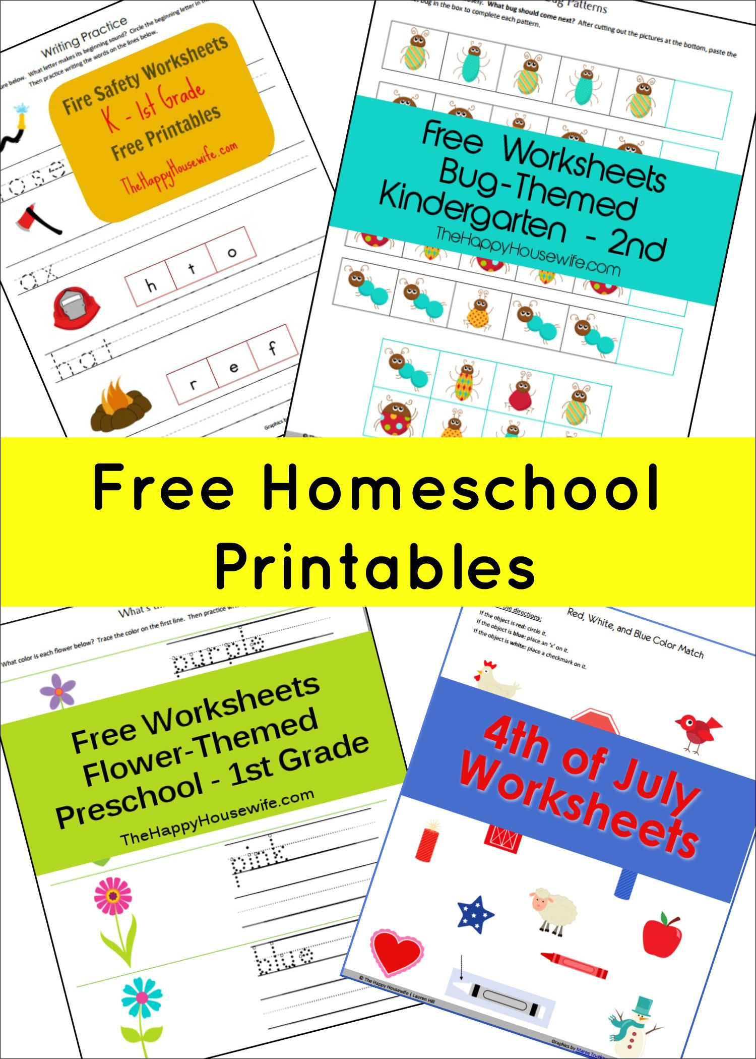 Homeschool Free Printables Homeschool Worksheets And Calendar Time