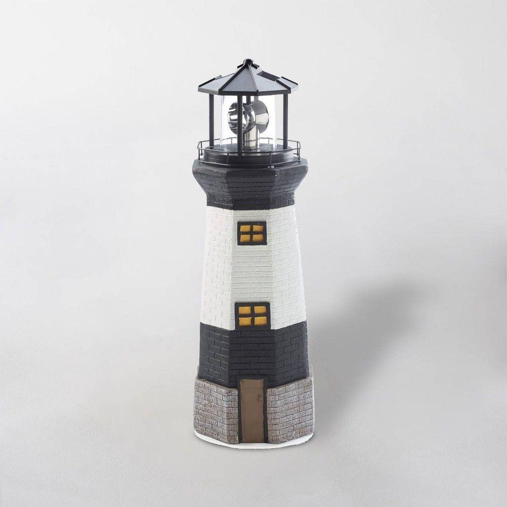 20 led solar lighthouse black white smart solar in 2019 products rh pinterest jp
