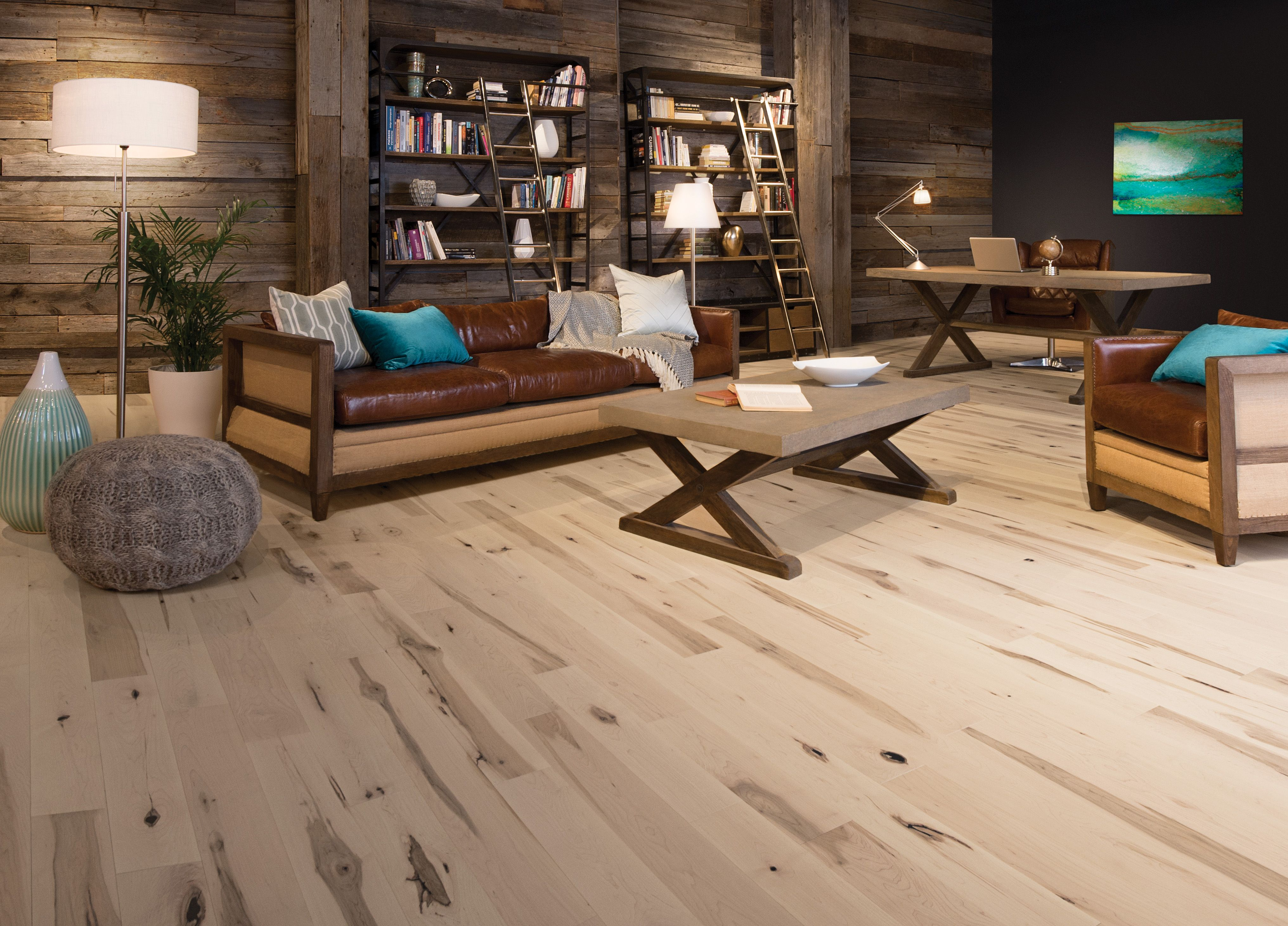 Maple White Mist Heavy Character Types of wood flooring