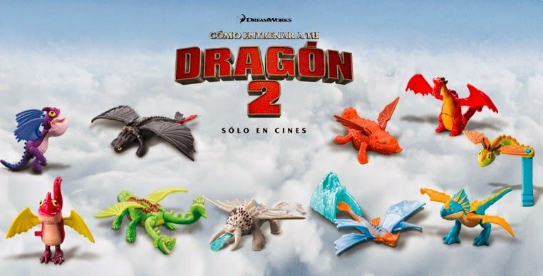 Mcdonald S Happy Meal Guatemala And Israel How To Train Your Dragon 2 Toys How To Train Your Dragon Mcdonalds Toys Happy Meal Mcdonalds