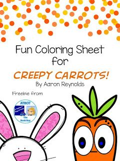 Creepy Carrots Freebie Library Lesson Plans Library Skills