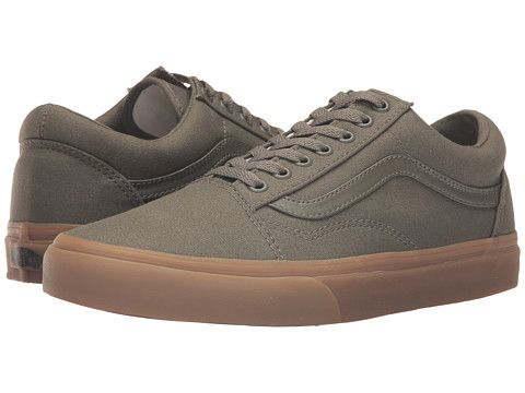 c441659a64e Vans Old Skool X Gum Pack (Canvas Gum) Ivy Green Light Gum - Zappos.com  Free Shipping BOTH Ways