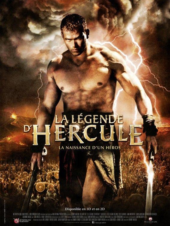 Strong Greek Hero In The Legend Of Hercules