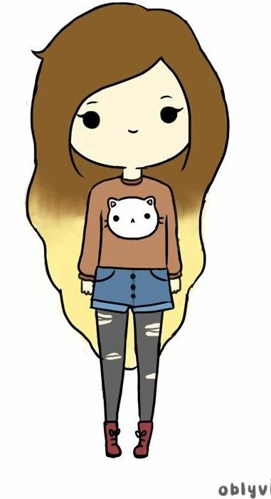 Hippie png girl my world pinterest girls drawings for Cute drawings for a girlfriend