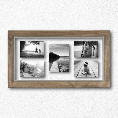 YOU PICK COLOR- One Extra Wide 8 12 x 11 Vintage Frame Home Decor Gallery Wall Distressed Rustic Nursery Family Photo Wedding Signs