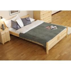 Photo of Youth bed pine solid wood natural A13, incl. Slatted frame – dimensions 180 x 200 cm Steiner