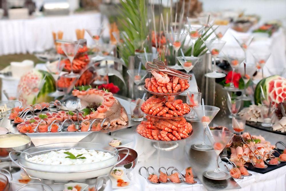 Some Ideas For The Seafood Buffet Brunch Desayuno Wedding Menu