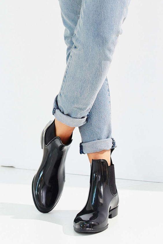 a05c9184ae8883 Sam Edelman Tinsley Chelsea rain boots