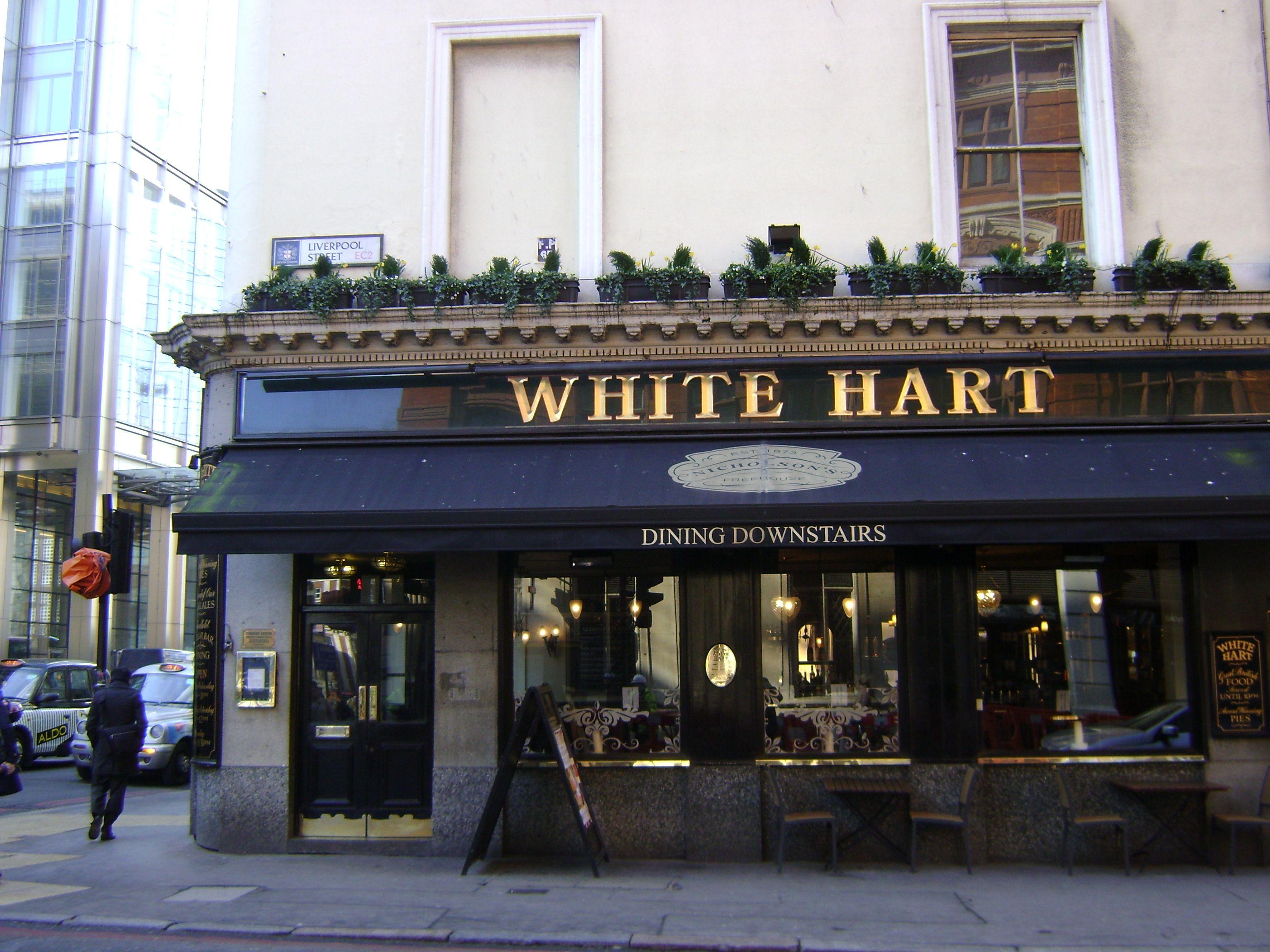 The White Hart London Pubs Regency London Liverpool Street