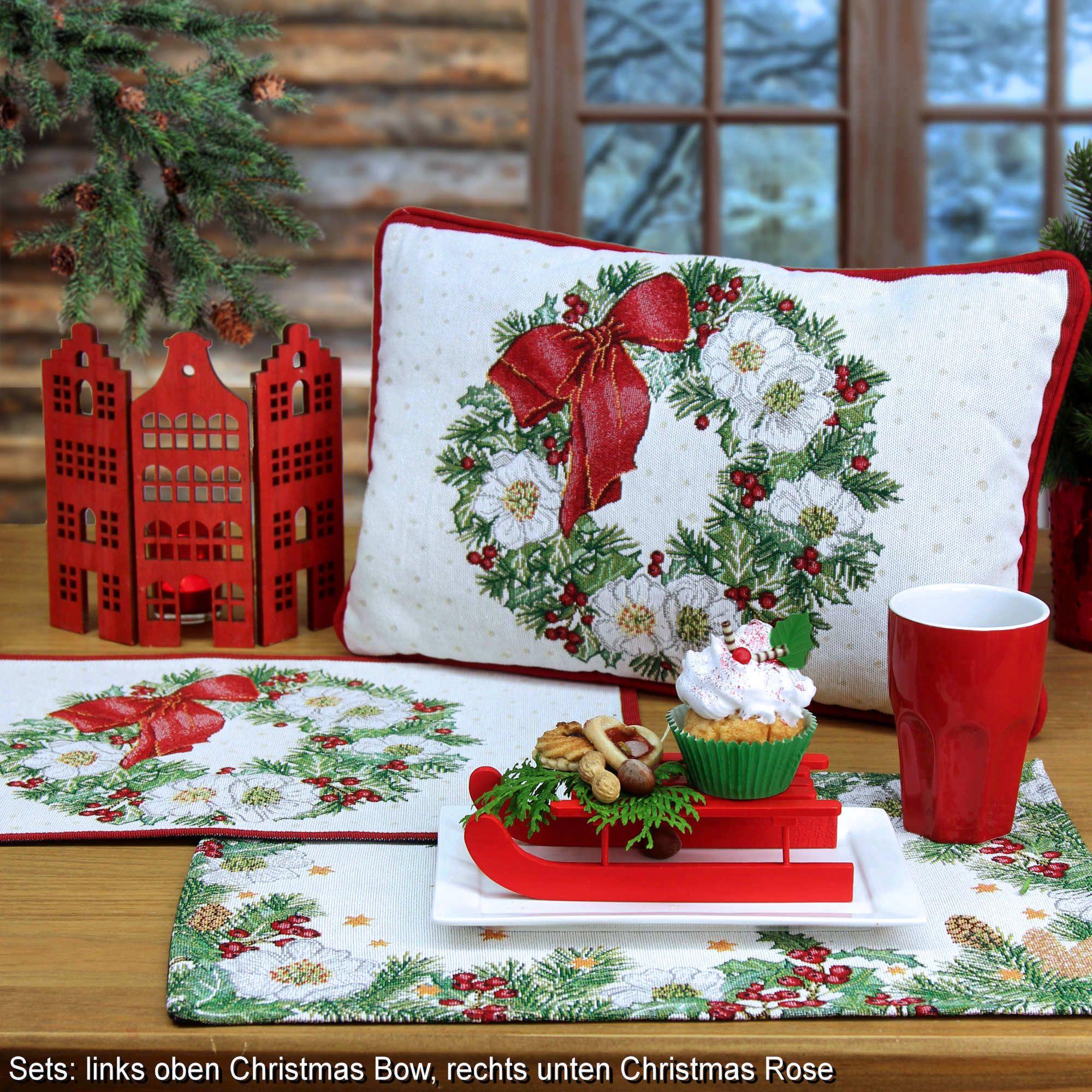 tischsets weihnachtsen und weihnachtskissen von sander online bestellen. Black Bedroom Furniture Sets. Home Design Ideas