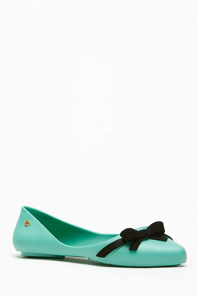 cbb6ec0379405 Bamboo Bow Accent Mint Jelly Flats   Cicihot Flats Shoes online store  Women s Casual Flats