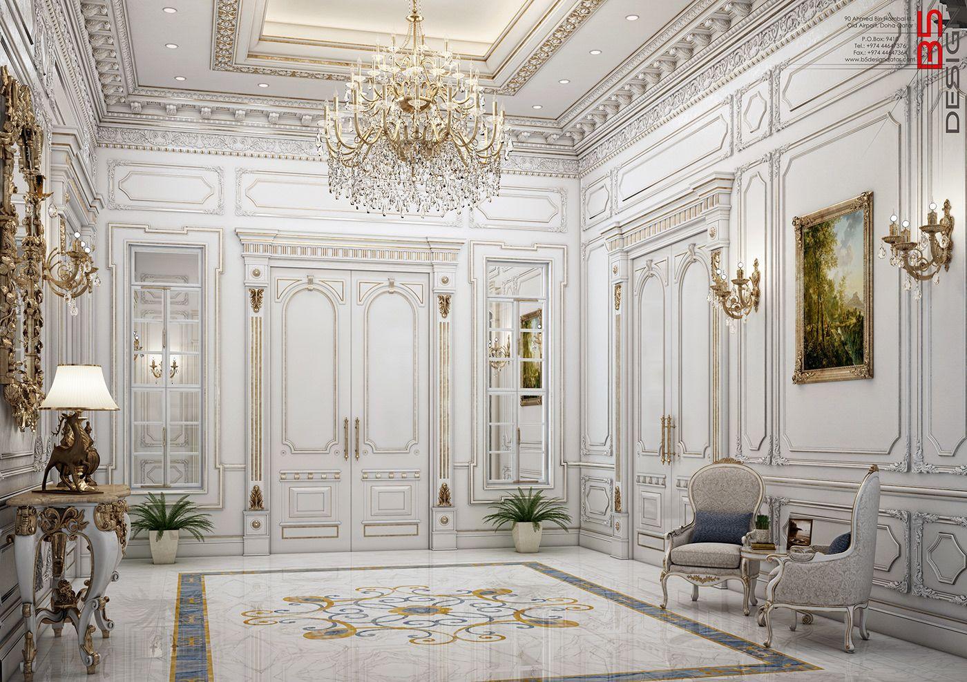Interior Decoration For Villa In Qatar   Home Design