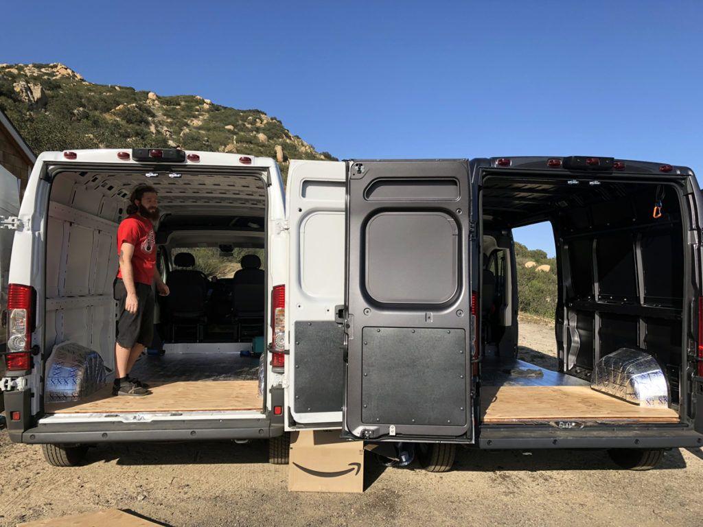 Ram Promaster 159 Wb Interior Cargo Height Ram Promaster Van Life Recreational Vehicles