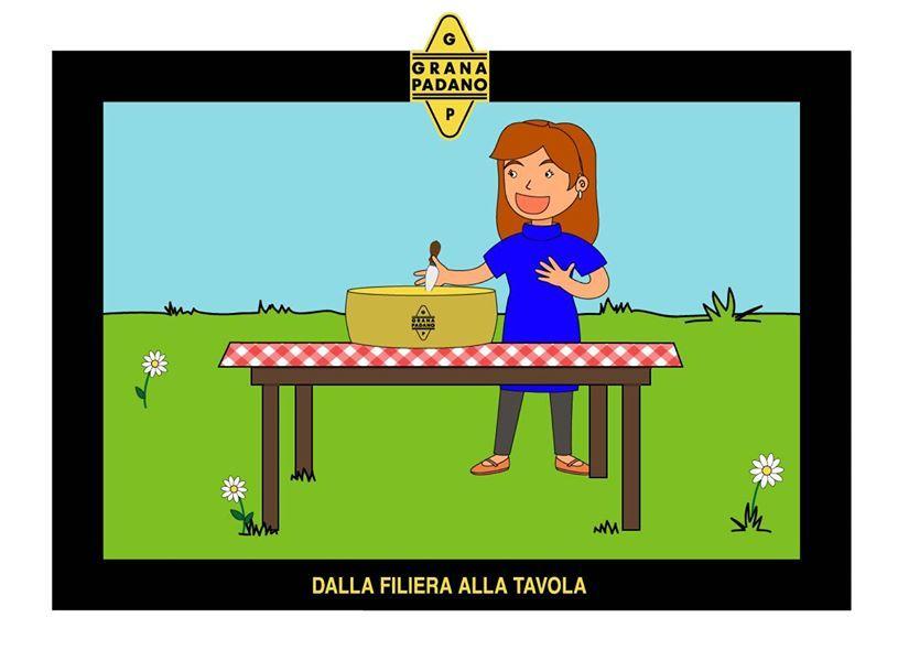 Ogni fase della filiera è certificata e garantita: per questo Grana Padano arriva sulle vostre tavole in tutta sicurezza. Buon appetito!