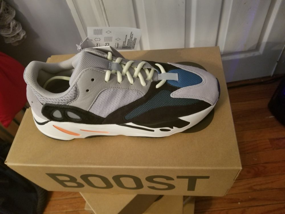 74d0b6df7a5ee 100% AUTHENTIC ADIDAS YEEZY BOOST 700 KANYE GREY WAVE RUNNER B75571 SIZE 11