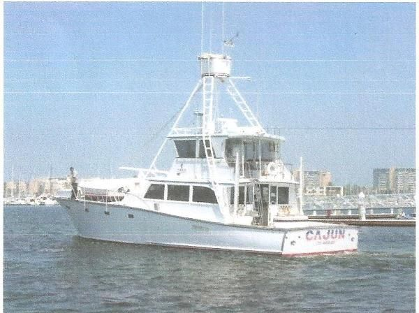 65ft 1970 Harkers Island Sportfisher listed by Marina del Rey Yacht Sales