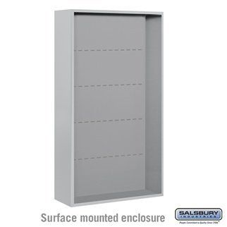 Surface Mounted Enclosure - for 3716 Double Column Unit - Aluminum by Salsbury Industries. $472.50. Surface Mounted Enclosure - for 3716 Double Column Unit - Aluminum - Salsbury Industries - 820996452733