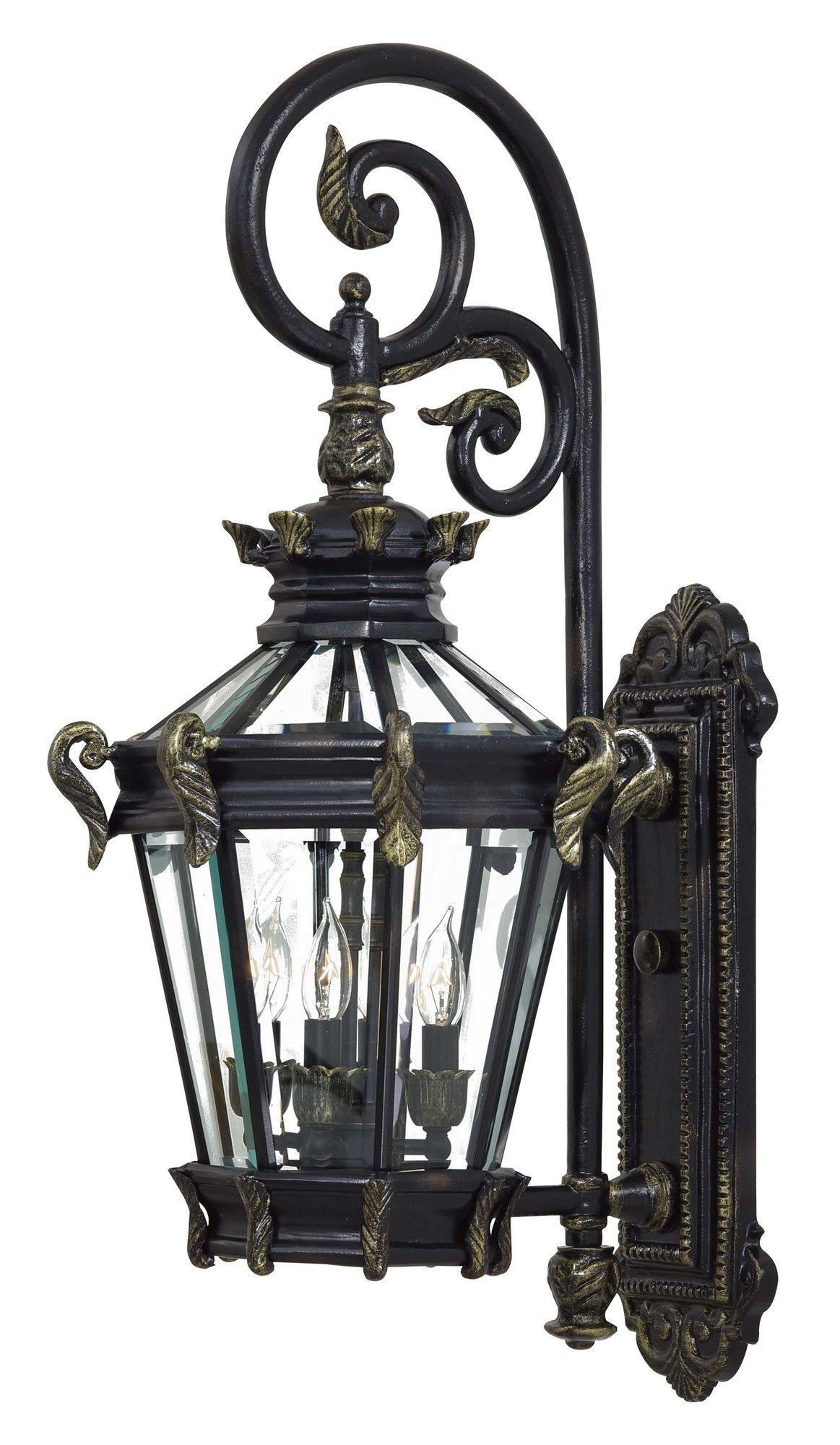 Stratford Hall 4 Light Wall Lantern