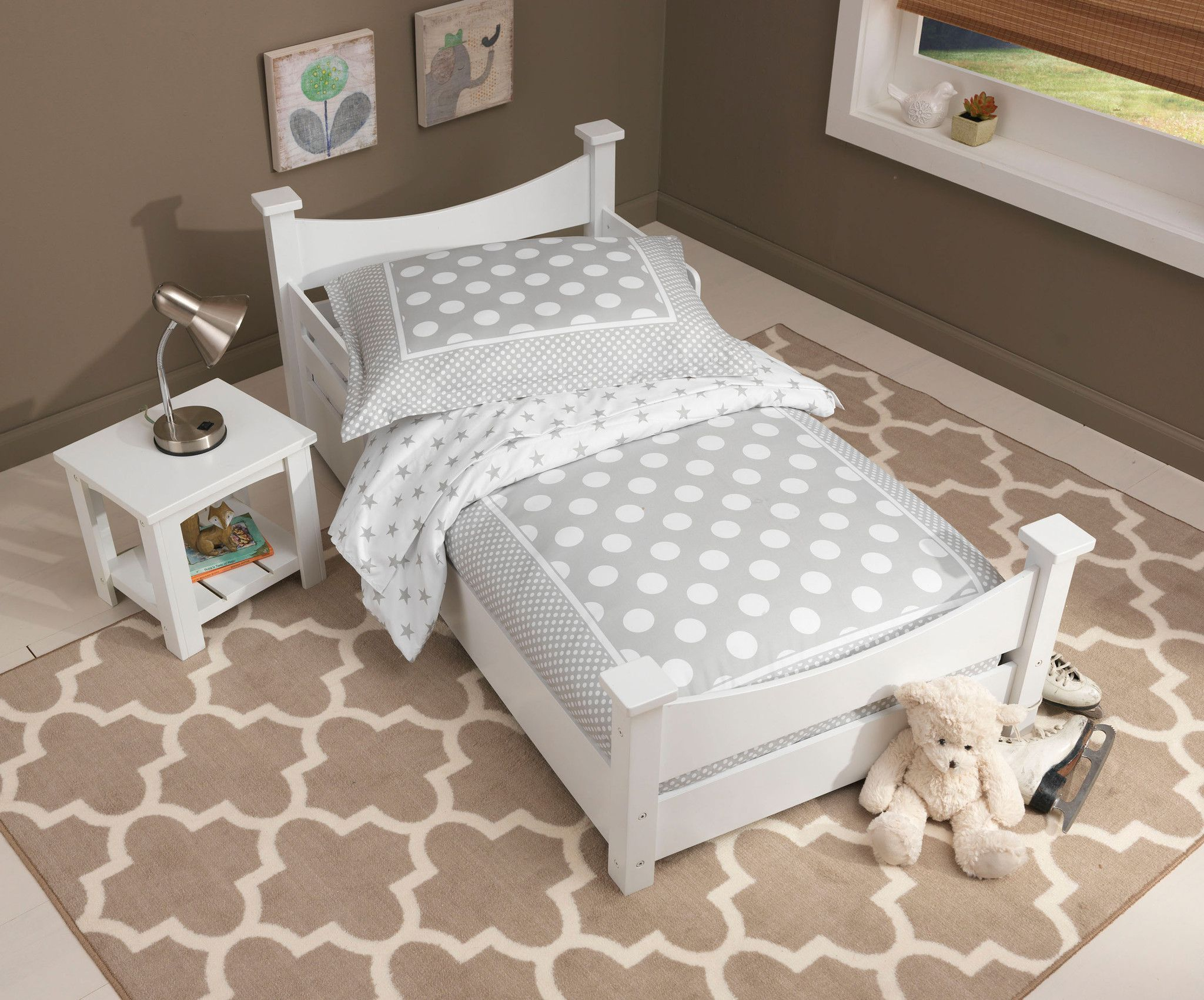 Best Kid Kraft Addison Toddler Bed White 76267 Toddler Bed 400 x 300