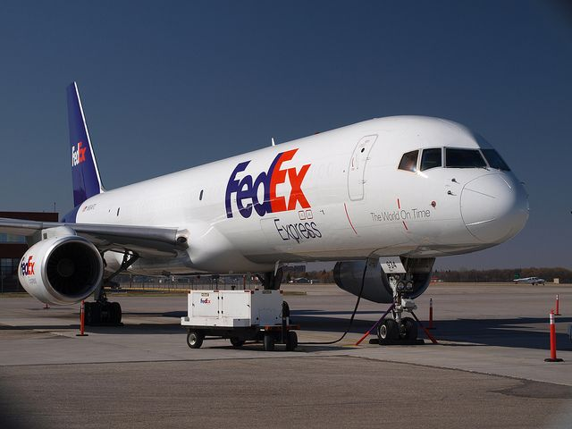 Fedex B 757 In The Sunshine Cargo Aircraft Boeing Aircraft Aviation