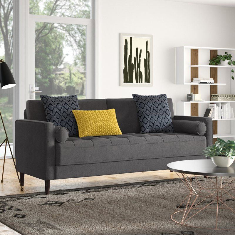 Garren 75 6 Square Arm Sofa Sofa Design Big Sofas Furniture