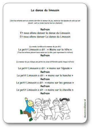 Paroles Sur Le Pont D Avignon : paroles, avignon, Danse, Limousin, Paroles, Illustrées, Limousin