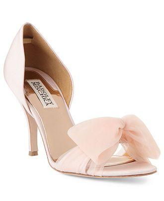 Badgley Mischka Shoes, Zandra Two Piece Pumps - Evening & Bridal - Shoes - Macy's