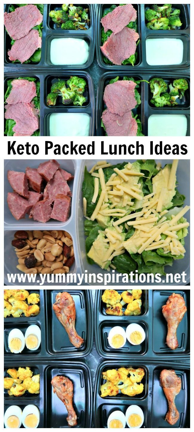 Keto Packed Lunch Ideas - low carb, ketogenic diet friendly ideas for lunch boxes and snacks on ...