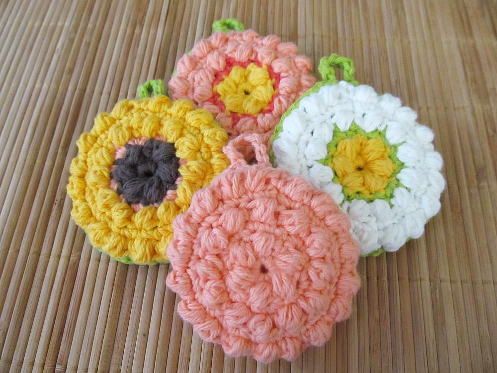 Free Crochet Pattern: Tawashi Scrubber | Crafty Grandma Ideas ...