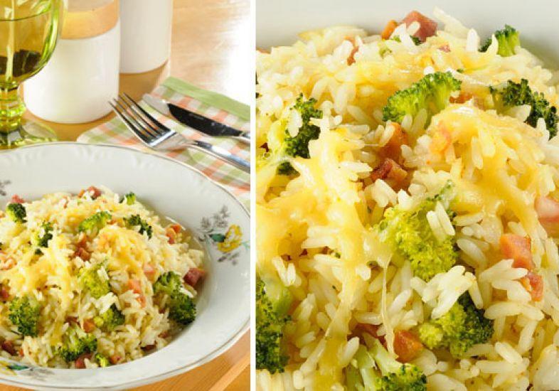 Arroz de forno com brócolis: uma receita simples e deliciosa.