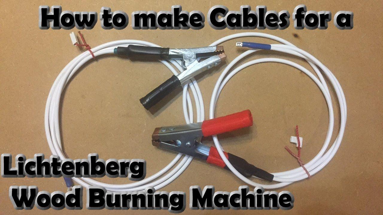 Lichtenberg Wood Burning Machine Making Cables Wood Burning Tool Burning Wood With Electricity Wood Burning Art