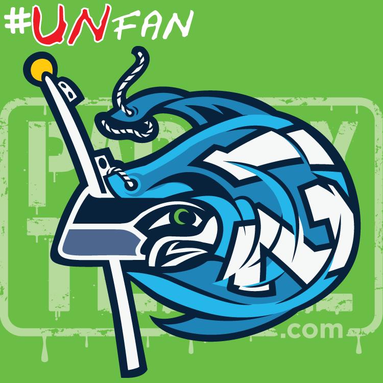 Funny Seahawks Parody Logo UNfan AZCardinals 49ers