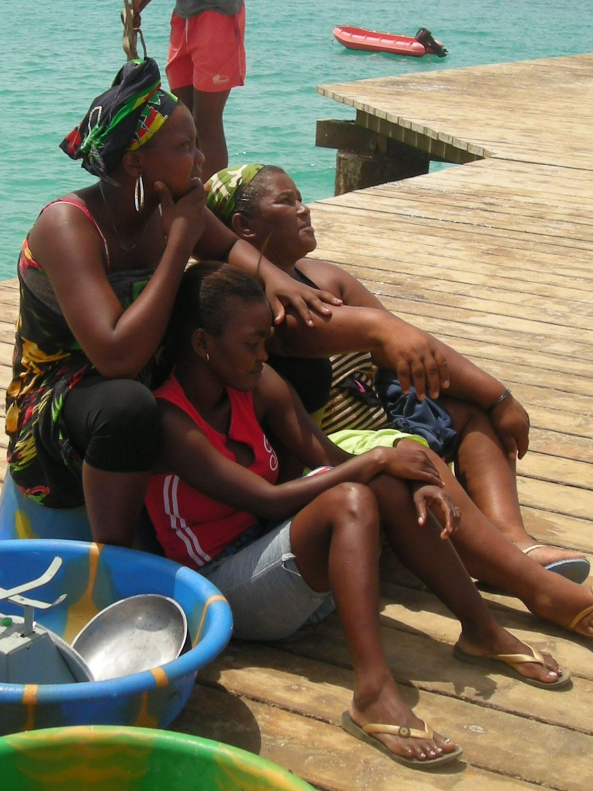 Cape Verde.lazy days...eating for the fishing boat to arrive...